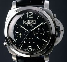 Panerai Luminor 1950 Ceramic 8 Days Chrono Monopulsante GMT 44mm (PAM 317)