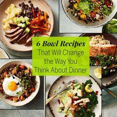 Roasted Sweet Potato, Quinoa and Fried Egg Bowl - Fitnessmagazine.com Breakfast, Lunch, Dinner - Anytime