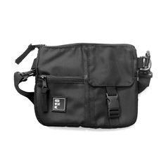 Shoulder Bag Pochete My Pocket Slim Preta - Hoshwear Inc. My Pocket, Shoulder Bags, Slim, How To Wear, Hip Bag, Cabinet Knobs, Unisex, Black