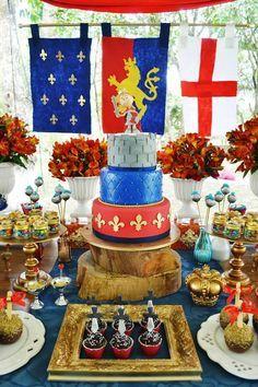 Encontrando Ideias: Festa Rei Arthur!!