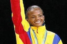 Jackeline renteria medallista olimpica.
