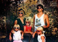 funny sunglasses family