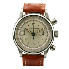 GIRARD-PERREGAUX Chronograph Stainless Steel 1950s