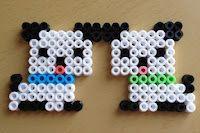 Hama beads puppies - Perritos en hama beads