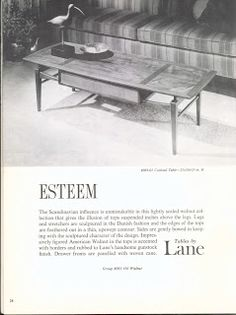 Lane Esteem Furniture Ads Rustic Making Living Room