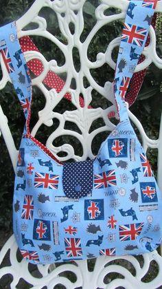 ~London~Tolle Umhängetasche von Humlebis Hytte auf DaWanda.com