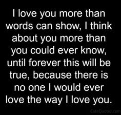 Love You Forever Quotes Beauteous L Will Love You Forever And Ever Love Quotes  Pinterest