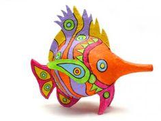 """Sword Fish  55 x 45 x 30 cm"" by Karla Tobar"