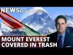 Mountain of trash at Mt. Everest revealed - YouTube