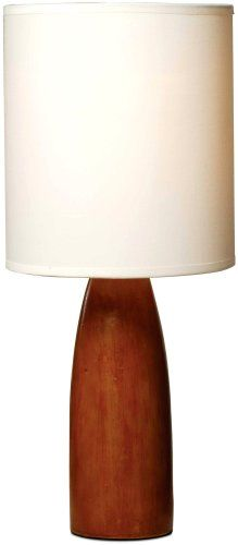 Normande HN1-1482 Flager 60-Watt Polyresin Wood-Look Table Lamp with Fabric Shade Normande,http://www.amazon.com/dp/B00137NN94/ref=cm_sw_r_pi_dp_b2u2sb13V5B4KRPY