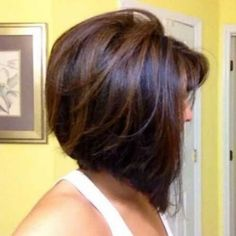 long stacked bob haircut pictures