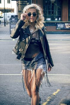 Rita Ora wearing another Hardware LDN Whoreware Bra \\ Jamaica Bra // #RITAORA #hardwarldn #whorewarebra #jamaicabra #streetware #streetbrand #streetfahion #music #streetcouture