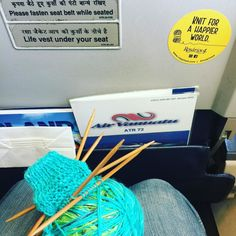 #knitforahappierworld #Rosarios4 #Vanuatu #Tanna #knitinsideaplane