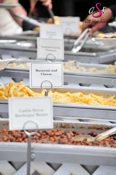 The most important detail at a wedding is the food! The catering at this wedding was provided by Bubb's BBQ/All Occasions Catering in Big Bend, WI.
