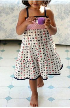 Summer Dress - Free Sewing Pattern