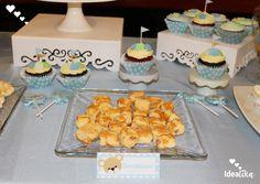 Bocaditos y cupcakes personalizadas con la temática de ositos,  creando momentos únicos #siempreideatika
