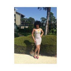 PurpleGlass Boutique | Grey & Lime HL Studded Bandage Dress | Online... via Polyvore