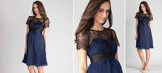 Genevieve Kleid aus der Kategorie Festliche Umstandsmode von Mamarella - Details