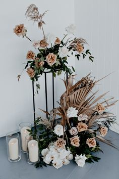 bridal wear florals dried palms australian designer boho elegance timeless tweed heads wedding ideas ancora images by ivy road photography to the aisle australia Wedding Trends, Boho Wedding, Floral Wedding, Fall Wedding, Wedding Styles, Wedding Ceremony, Wedding Flowers, Dream Wedding, Wedding Shoot
