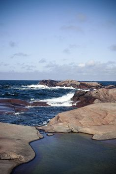 Finnish archipelago by Visit Finland, via Flickr. The waters of the Baltic are challenging for sailors. There are many rocks and reefs just below the surface.