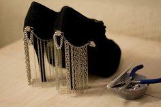 DYI: Chain Curtain Heels
