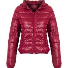 Jaqueta Matelasse pluma de ganso vinho #inverno #moda #fashion #trend #tendencia