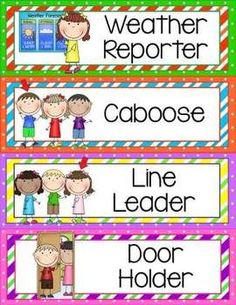 Very cute clip art for classroom helpers!! Click the picture to check it out :)