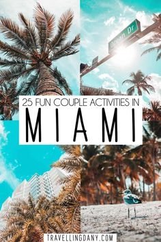 25 romantic and fun things to do in Miami for couples: ultimate bucket list! Plan an amazing Miami couple trip with your significant other, with 25 never seen before tips on romantic date ideas! With tips for every pocket and for every kind of couple! Us Destinations, Romantic Destinations, Romantic Vacations, Romantic Getaway, Romantic Travel, Romantic Things, Dream Vacations, Usa Travel Guide, Travel Usa