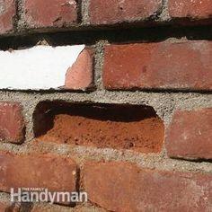 How to Repair Broken Bricks. Neřešitelné, měkká cihla ve tvrdé cementové maltě.