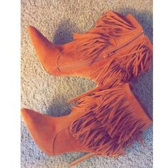 💕✨Tassel heels Brown/suede tassel heels. Not real suede, imitation. Size 10 but fit like size 9. I am 8.5/9 and they fit perfectly. Will be marking these as a size 9 for selling. In perfect condition never worn, have been sitting in my closet! Open to reasonable offers around selling price! Shoe republic LA Shoes
