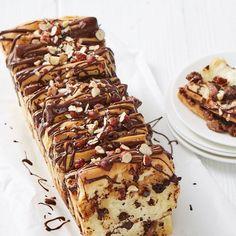 ESSEN & TRINKEN - Schokoladen-Nougat-Zupfbrot Rezept