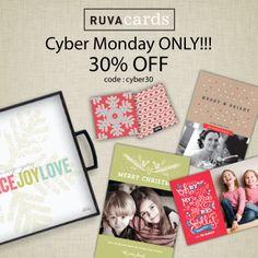 Cyber Shop Monday - $1.00 for cards - unbelievable!