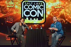 "Ian Somerhalder - 03/09/16 - Ian, on the end of #VampireDiaries: ""It's hard. It's an amazing journey... It's a community. It's a family."" #SLCC16 https://twitter.com/slcomiccon/status/772196493566550016 - Twitter / Instagram Pictures"