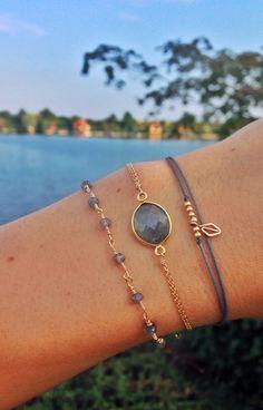 Penny Ball Bracelet - grey - i . - - Penny Ball Bracelet - grey - i . Cute Jewelry, Beaded Jewelry, Jewelry Accessories, Handmade Jewelry, Women Jewelry, Fashion Jewelry, Jewelry Crafts, Silver Jewelry, Silver Rings