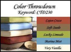 Color Throwdown: Color Throwdown #230