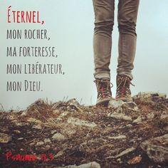 Psaume 18.3 Éternel
