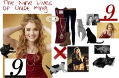 """The Nine Lives of Chloe King"" by luvyhu303 ❤ liked on Polyvore"