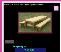 Building A Picnic Table With Separate Benches 164356 - The Best Image Search