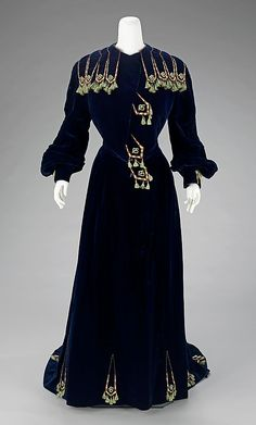 Silk Afternoon dress - House Of Paquin, Mme. Jeanne Paquin (1869-1936) c. 1901 - French