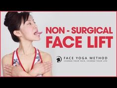 Facial Exercises - Non Surgical Facelift With Face Yoga Massage Facial, Facial Yoga, The Face, Face And Body, Anti Rides Yeux, Face Lift Exercises, Face Exercises Cheeks, Sagging Face, Face Yoga Method