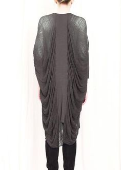 Fabric manipulation - great drape.