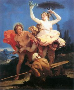 Apollo and Daphne by Giovanni Battista Tiepolo.