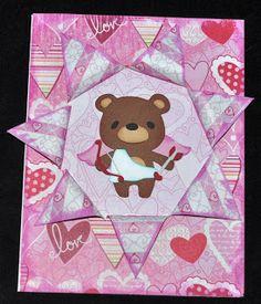 My Little Spot of Sanity: Beary Cupid Valentine