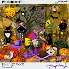 FALANGO BOO ELEMENTS By Regina Falango