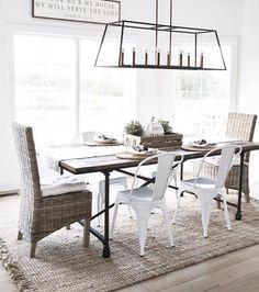 Luminaires Nouvelles Maisons Lits Tableau Cuisines Salles A Manger Conviviales De Ferme Table Moderne Rustique