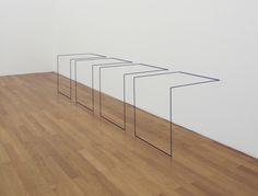 Fred Sandback--Exhibit at Elizabeth Leach Gallery #fredsandback