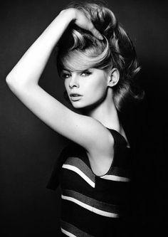 theswinginsixties:    Jean Shrimpton photographed by David Bailey, 1961.