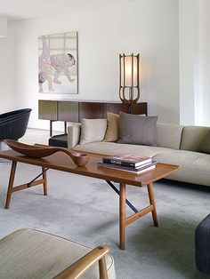 Mid Century Modern Interior - Albano Daminato as seen at plastolux