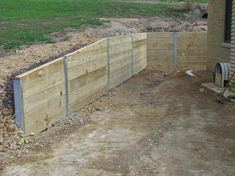 retaining wall ideas | Retaining Walls