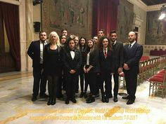 """World Citizenship- World Heritage ( or Global Citizenship- Cultural- Art -Landscape- Environmental  Heritage Project) Italy Montecitorio Palace Chamber of Deputies """" Sala della Regina"""" march 7th 2017"""